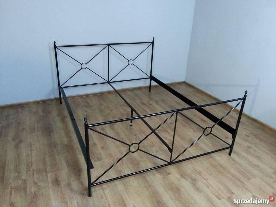 Solidne łóżko Kute Metalowe Producent 140x200 Do 180x200