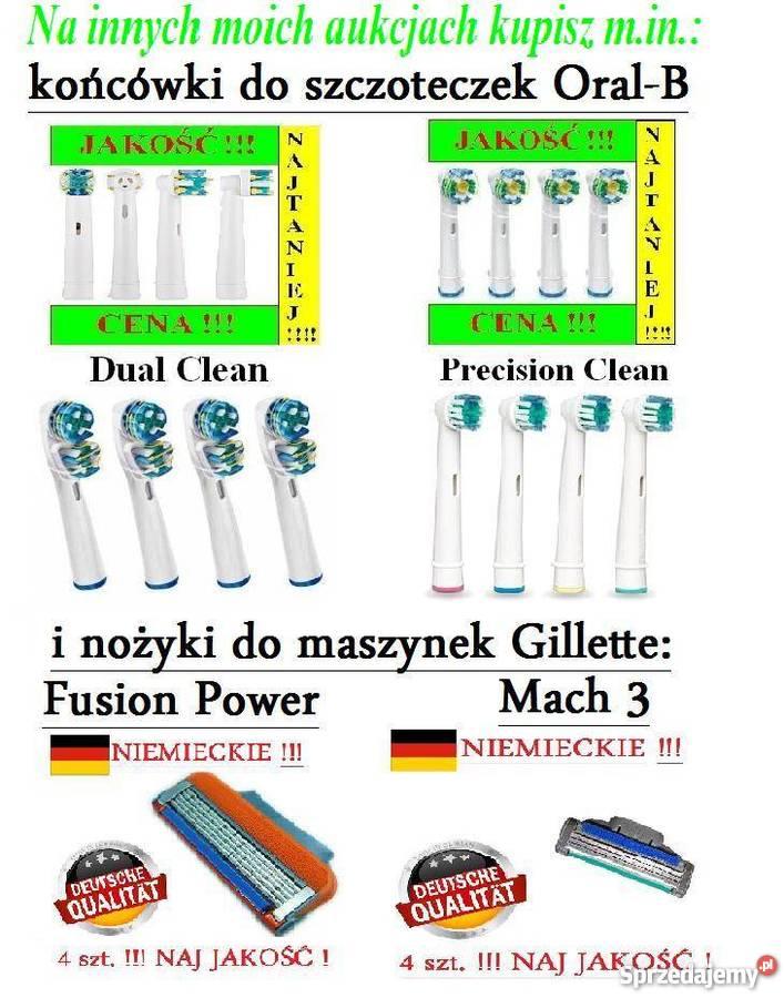 Koncowki Oral B Precision Clean Najtaniej Sprzedaż Wysyłk