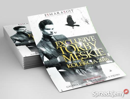 Projekt graficzny plakat ulotka Lublin