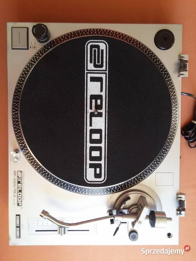 Gramofon Reloop RP-1000 MK2 Silver Professional