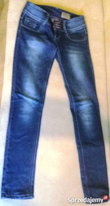 802c019332285 Spodnie jeansy niebieskie rozm.26 (xs,s) Białystok - Sprzedajemy.pl