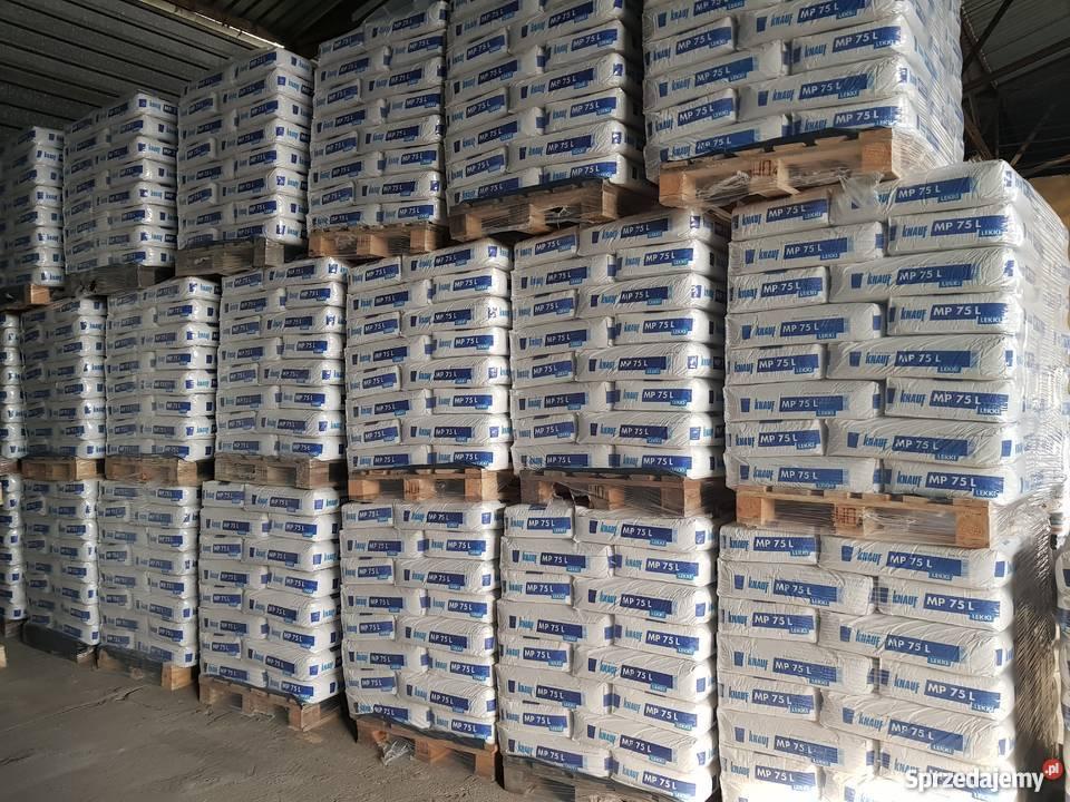 Knauf Mp75l 30kg Tynk Gipsowy Maszynowy Lekki Radom Sprzedajemy Pl