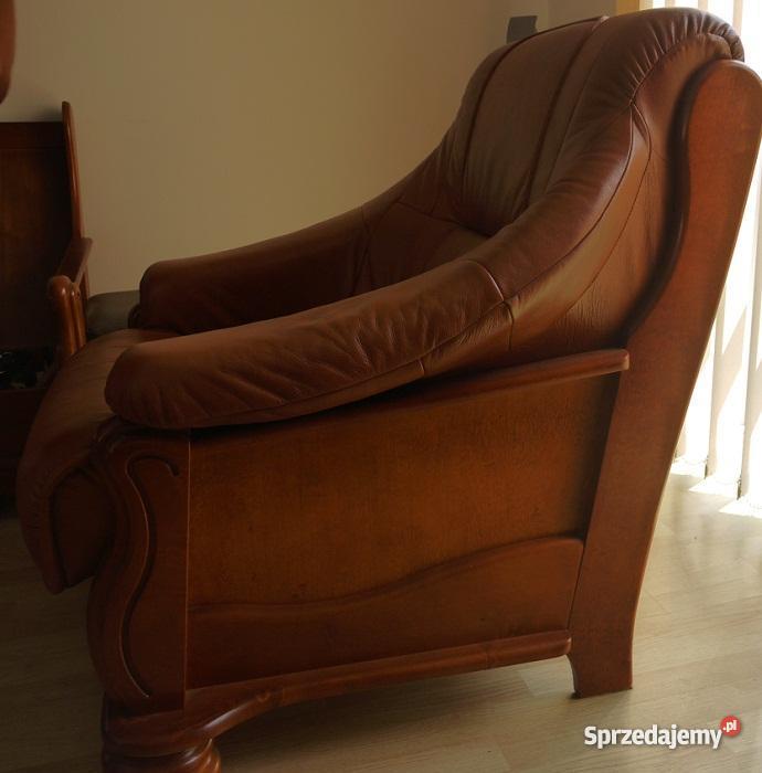 wypoczynkowy 311 SKÓRA fotel sofa KRAKÓW swarzę małopolskie Kraków
