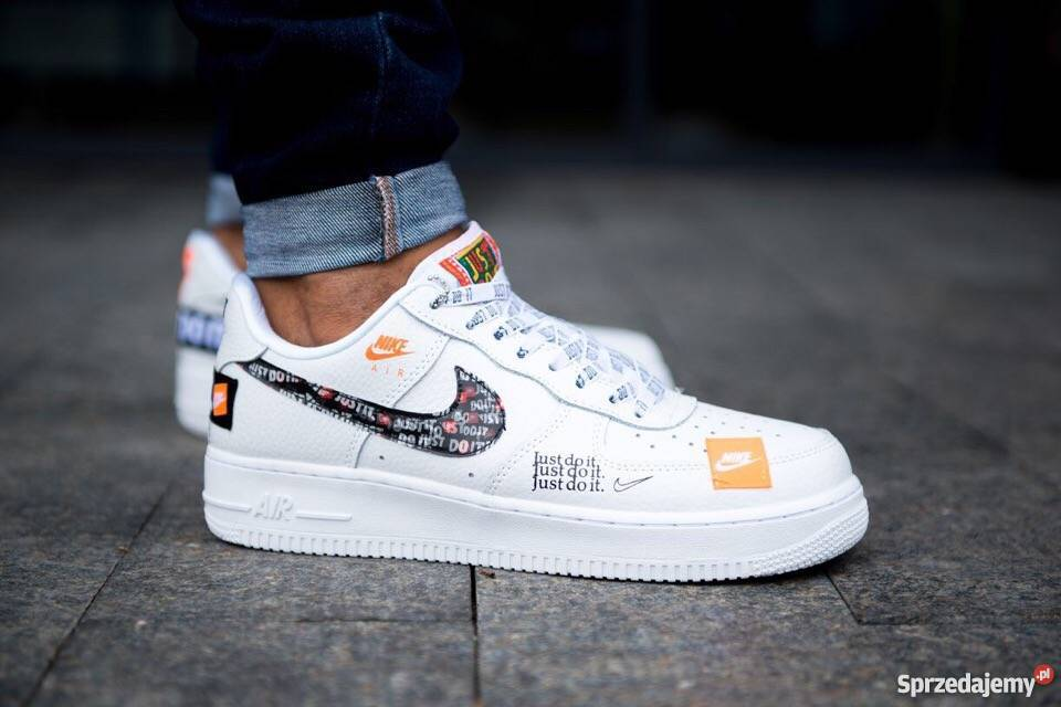 fdfe172ed Nike Air Force 1 07 Just Do It Pack White r41-45 Lublin - Sprzedajemy.pl