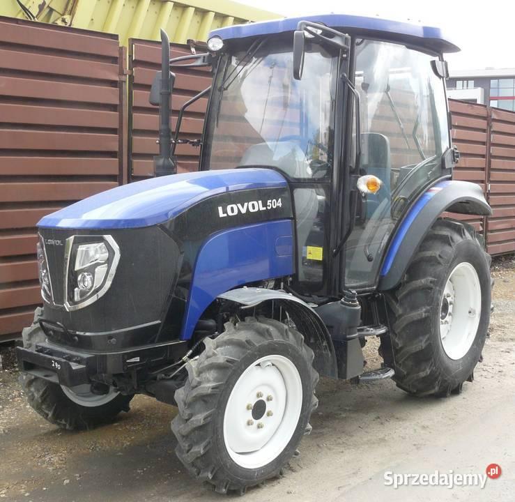 Ciągnik rolniczy Ursus Lovol 504 MFWD 50 KM 4x4 nieużywany