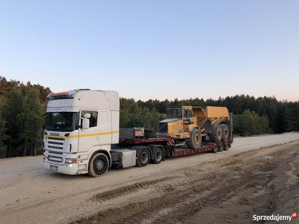 Wybitny transport niskopodwoziowy cena - Sprzedajemy.pl SY45