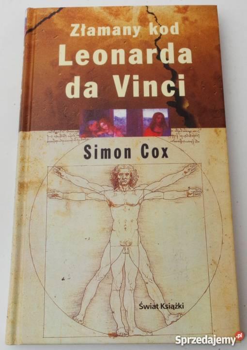 ZŁAMANY KOD LEONARDA DA VINCI COX SIMON Koszalin