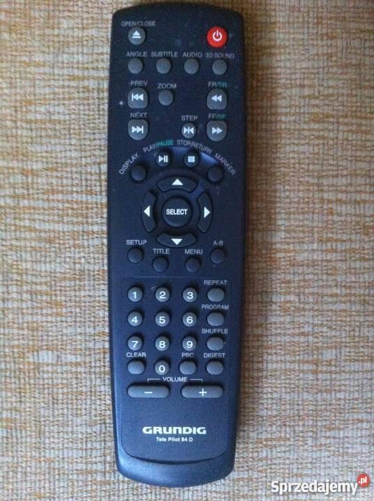 Pilot Grundig Telepilot 84d - odtwarzacz DVD