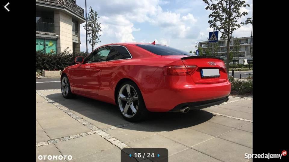 Audi A5 Sline Coupe Super Stan i wygląd Idealny 2700cm3 A5 Warszawa