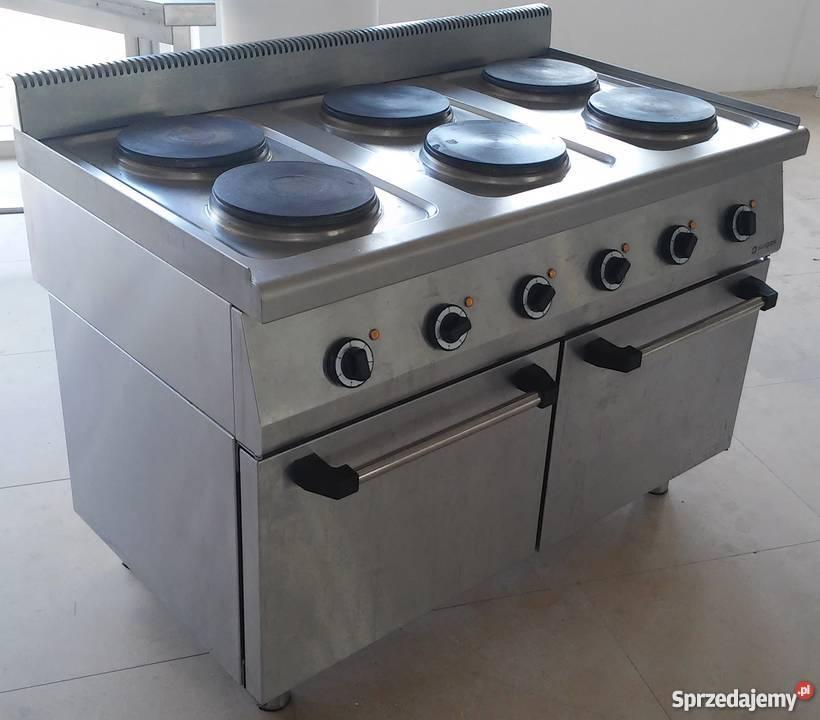 Kuchnia Elektryczna Kuchenka Gastronomiczna 400 V