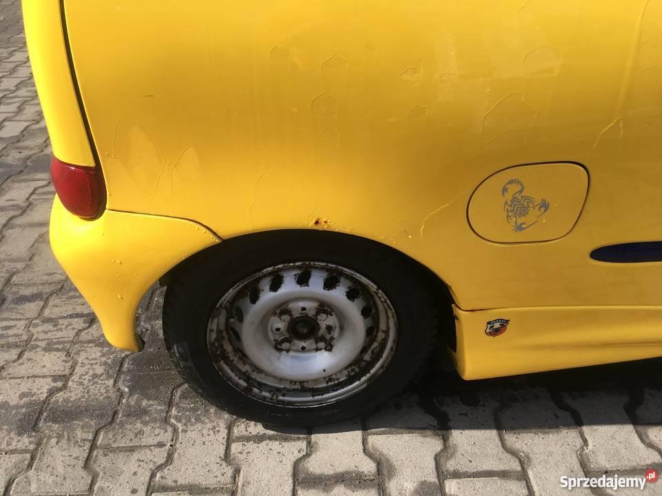 Fiat Seicento Sporting 11 SPI Twardorzeczka