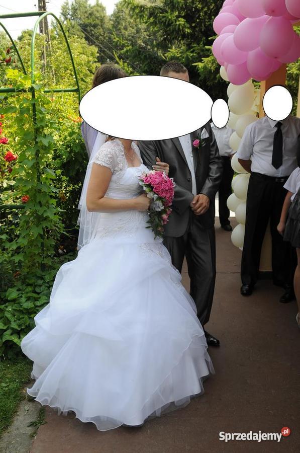 Suknia Ślubna Rozmiar 36(S) Stara Jastrząbka