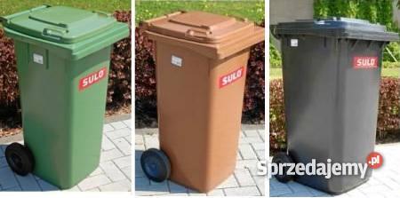 Pojemniki na odpady 120 l kosze kosz pojemnik śm Pozostałe Wrocław sprzedam