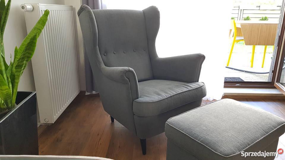 ikea fotel uszaty podnuzek