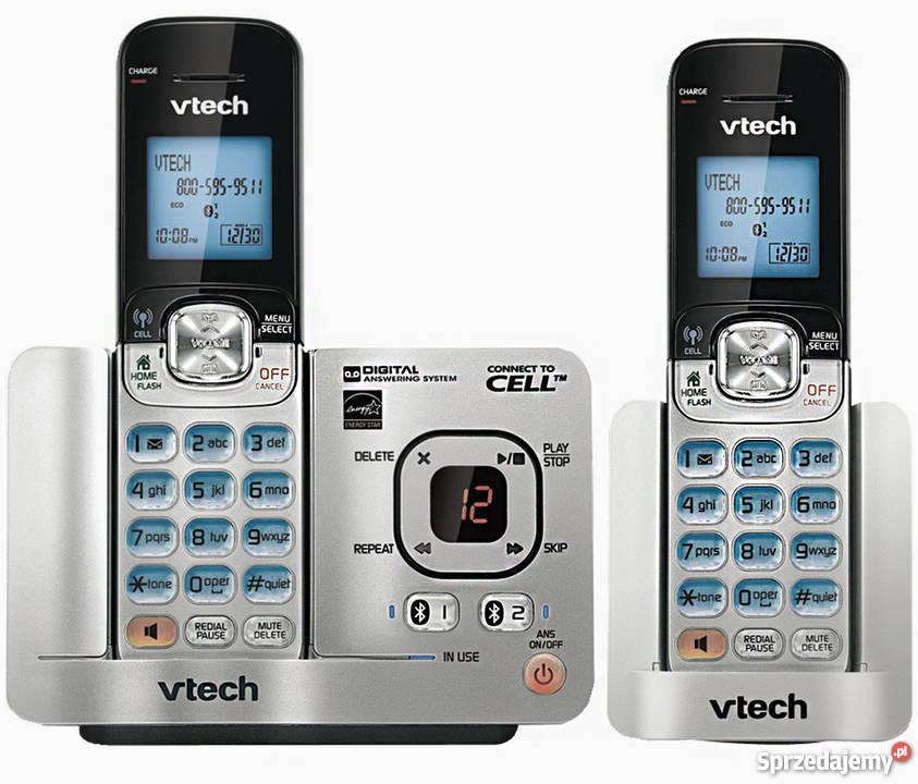Telefon Stacjonarny Bezprzewodowy Firmy Vtech Białystok border=