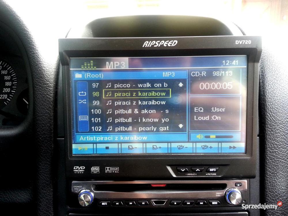 Radio Samochodowe DVD 7 Wysuwany wyświetlacz DV RDS Strzelce Opolskie