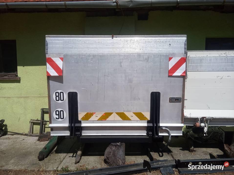 Winda załadowcza 12V montaż Iveco Mascott