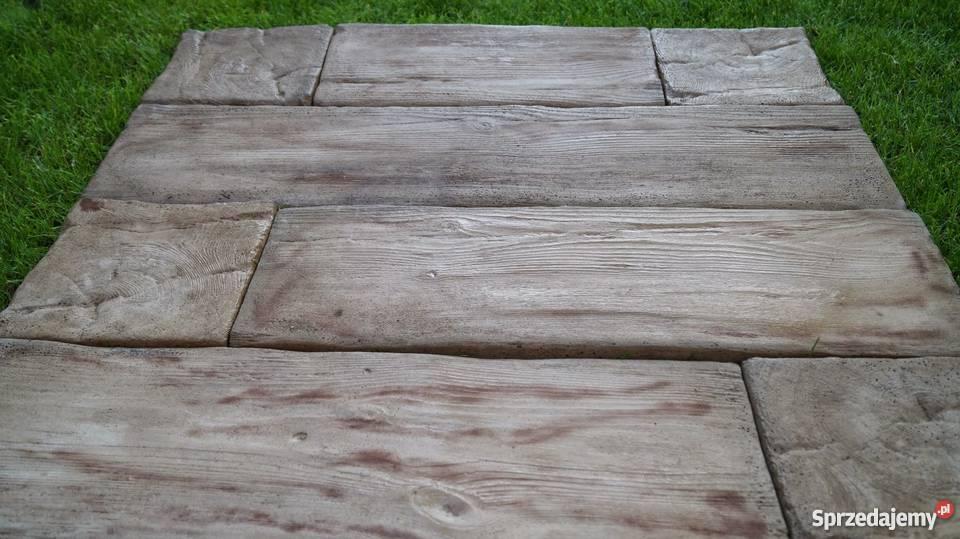 Drewno Betonowe Sedki Betonowe Płytki Tarasowe