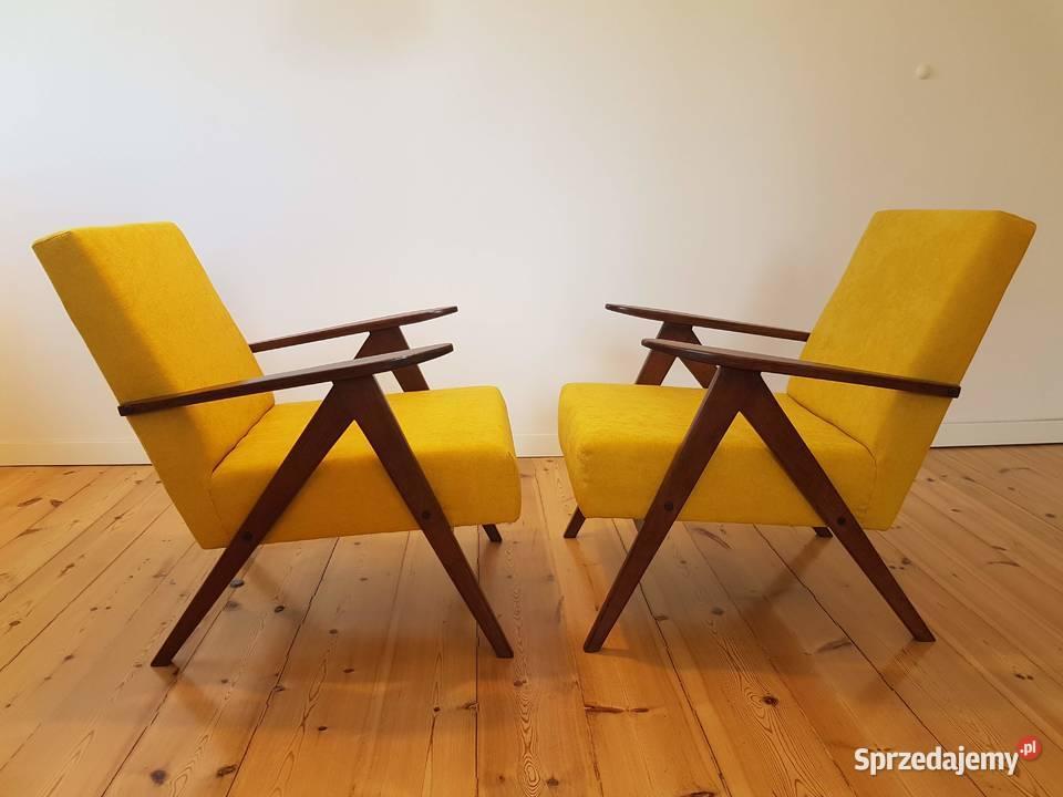 Fotel PRL  B – 310 VAR  lata 70 vintage loft nie Chierowski