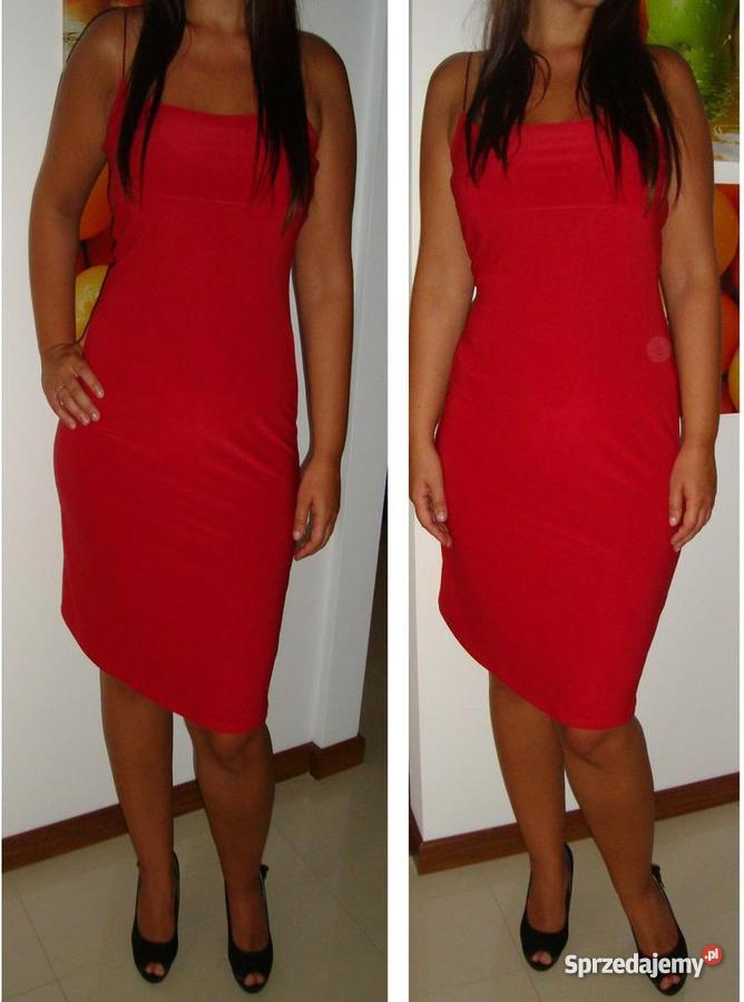 92541b66ae Czerwona sukienka idealna na lato VERO MODA rozm M - Sprzedajemy.pl
