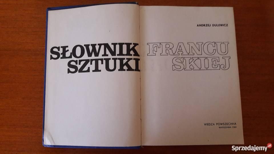 Słownik sztuki francuskiej Lubin