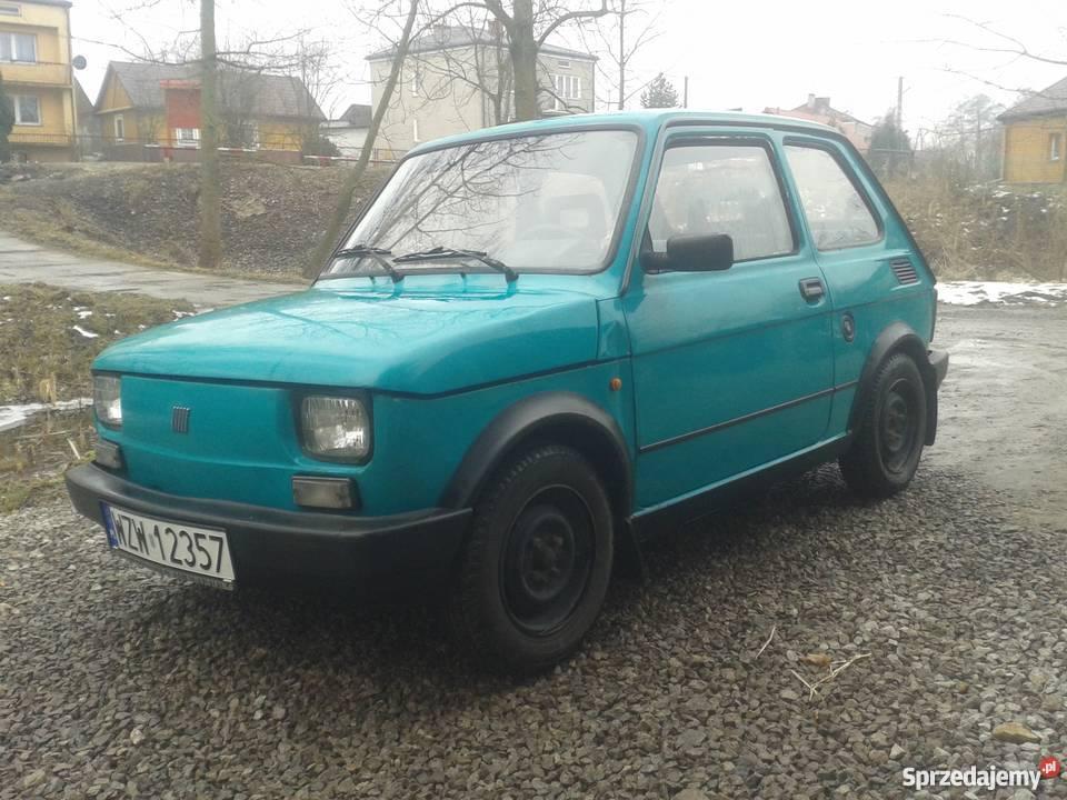 Fiat 126p Maluch Elegant Stan do Jazdy kupiony w polskim salonie Poniatowa