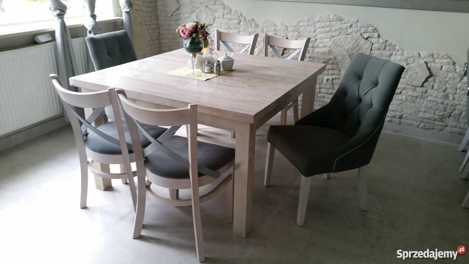Niewiarygodnie Krzesła eleganckie pikowane z kołatką i pinezkami producent Piła HE79