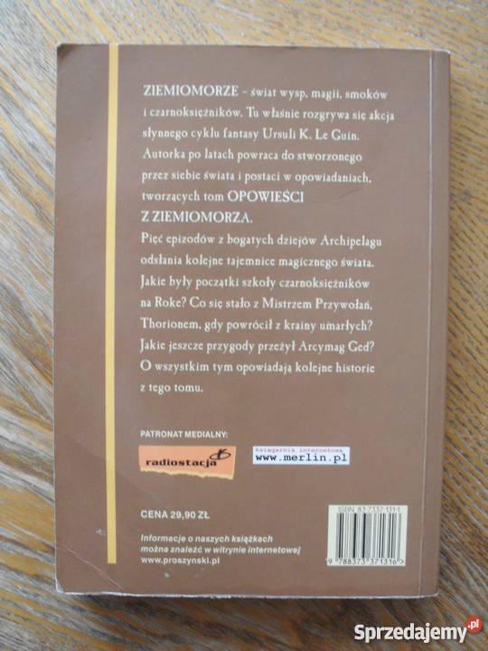 Opowieści z Ziemiomorza Ursula K Le Guin