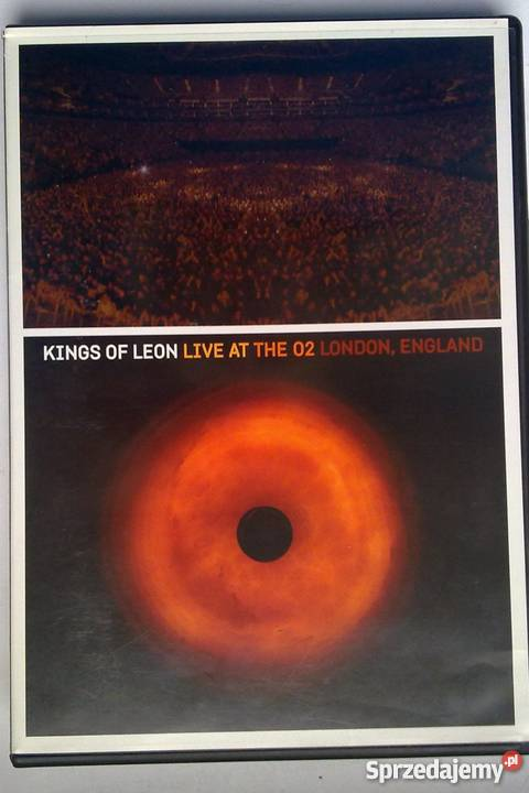 Kings Of Leon Live At The 02 London England DVD Warszawa