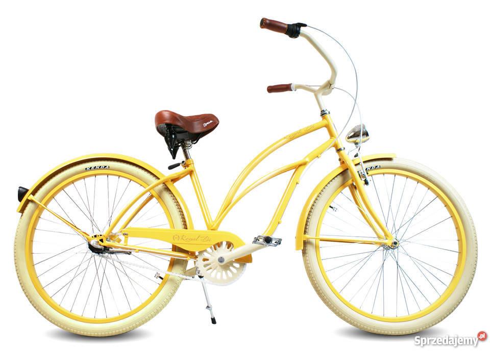 Rowery rower Cruiser RoyalBi NOWE 26 electra kujawsko-pomorskie Toruń