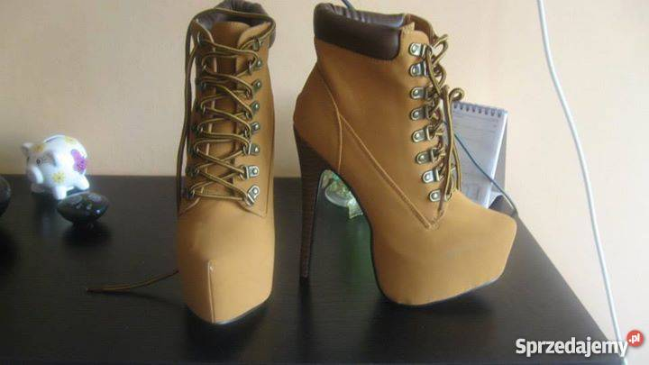 timberland buty obcasy