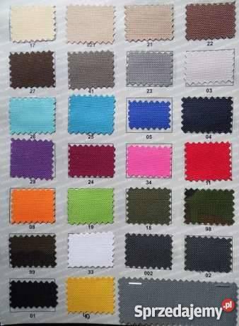 Materiał WODOODPORNY mocny w 26 kolorach wielkopolskie Pecna sprzedam