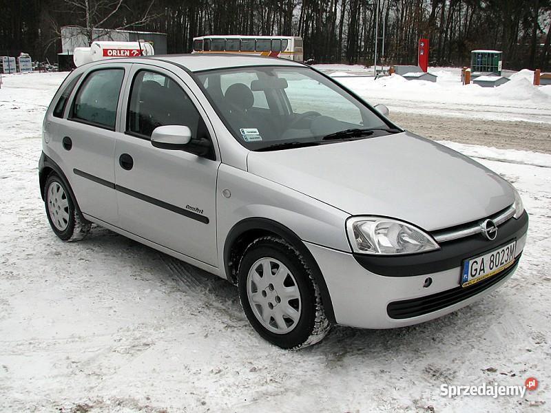 Opel Corsa C kujawsko-pomorskie Włocławek
