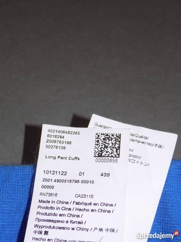 3cac5b9c0a112 Spodnie dresowe Hugo Boss Long Pant Cuffs Blue M dolnośląskie Ząbkowice  Śląskie sprzedam