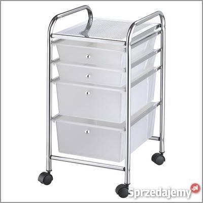 Modne ubrania Regał szafka wózek na kółkach z 6 SZUFLADAMI MX3052 Metlex GC87