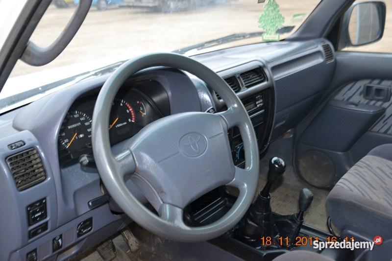 Toyota Land Cruiser elektryczne lusterka