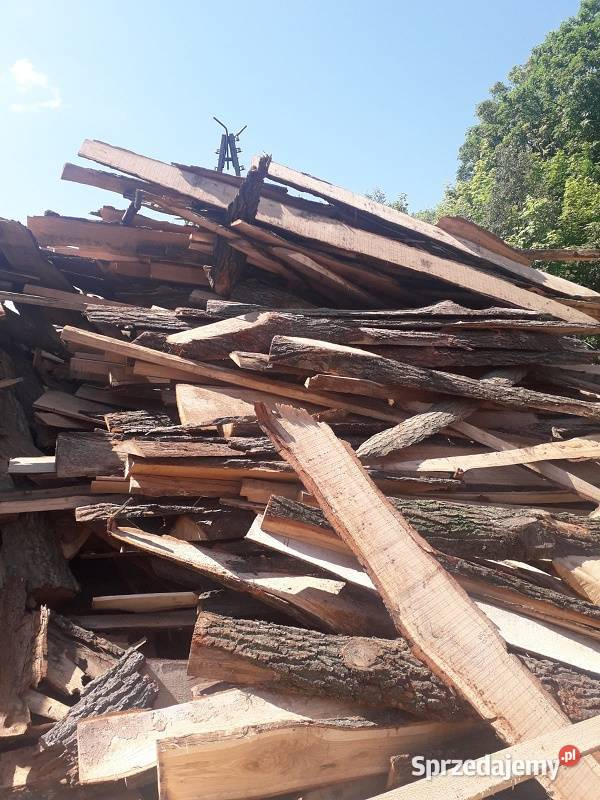 Drewno opałowe iglaste nieciete