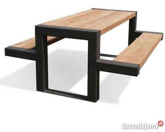 Stolik Z ławkami ławka Ogrodowa Stół Ogrodowy Piknikowy