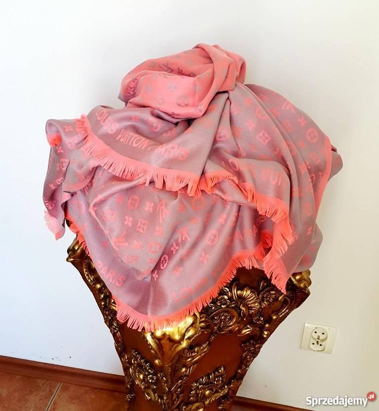 87532239b57ffd złoty szal - Sprzedajemy.pl