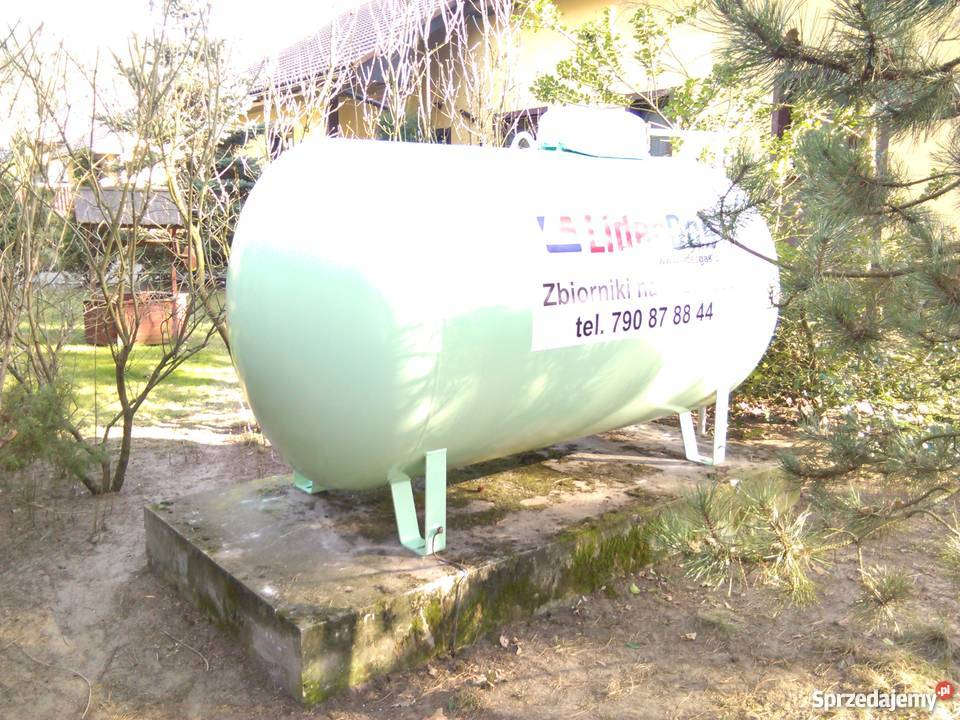 Rewelacyjny Zbiornik na gaz propan 2700 l, NOWY ZIELONY Wrocław - Sprzedajemy.pl SF78