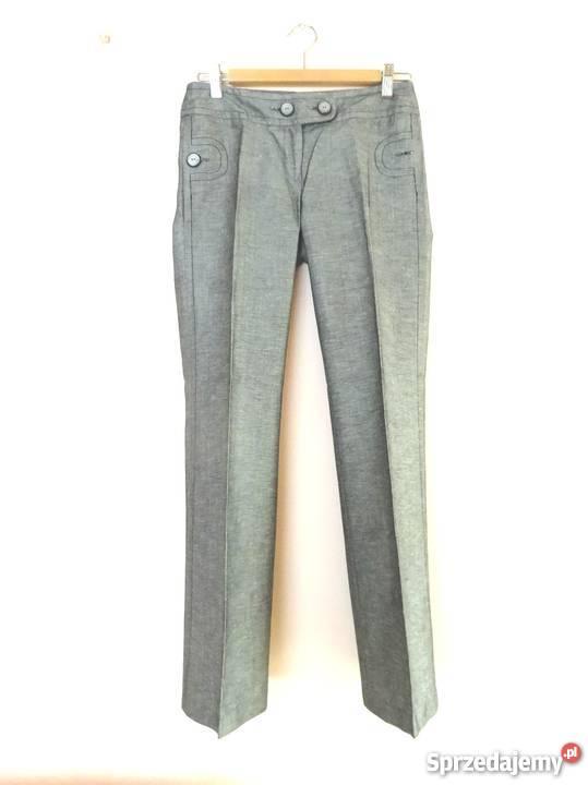 c530587bead4dc eleganckie spodnie w kant szare Orsay xs 34 Warszawa - Sprzedajemy.pl