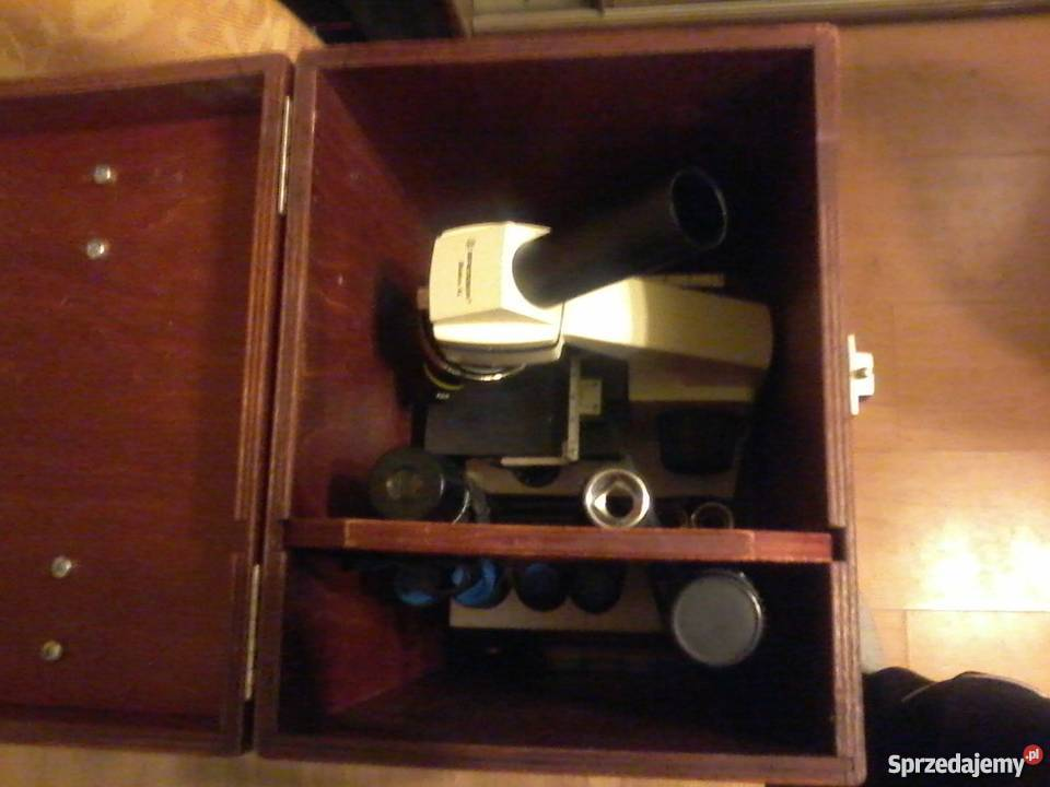 Mikroskop bresser biolux nv z kamerą pc vga x