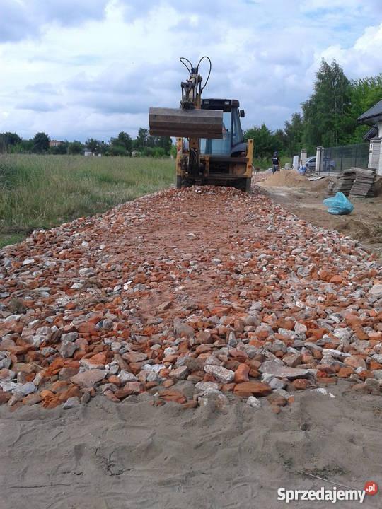 UTWARDZENIE DROGI TERENU PARKING PLAC KRUSZYWO Pozostałe mazowieckie Radom