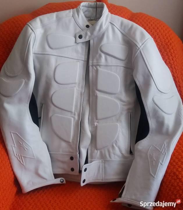 Fantastyczny kurtka skórzana biała - Sprzedajemy.pl OP66