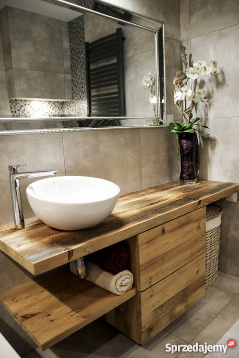 Meble Do łazienki Ze Starego Drewna Na Wymiar