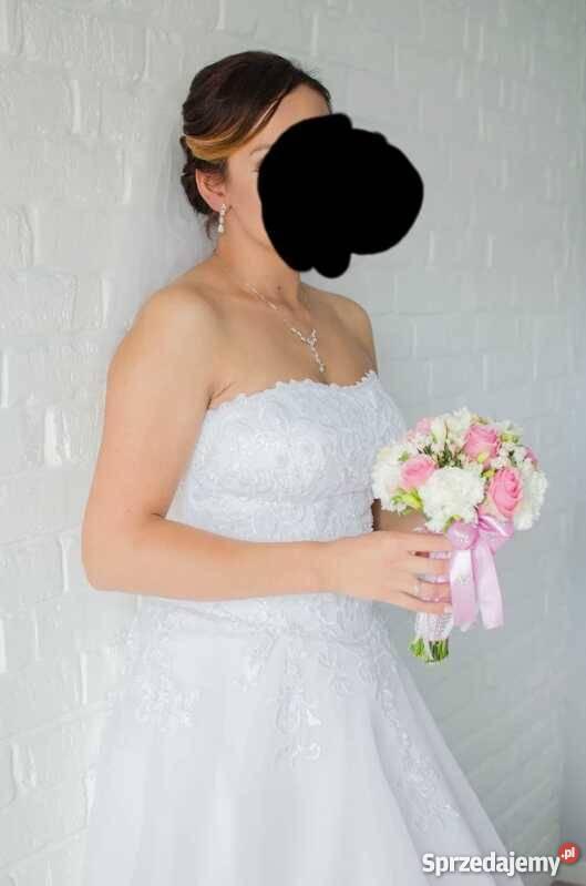 470f3b0979 Sprzedam suknię ślubną Stężyca - Sprzedajemy.pl
