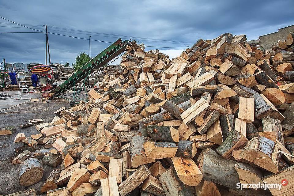 Drewno kominkowe i opalowe- MŁAWA