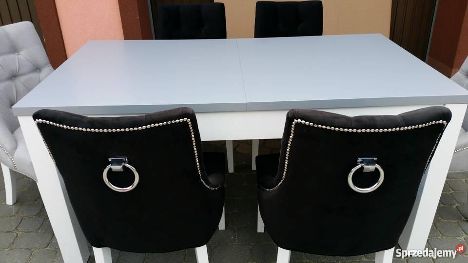 Krzesło chesterfield z kołatką pinezkami Lublin sprzedam