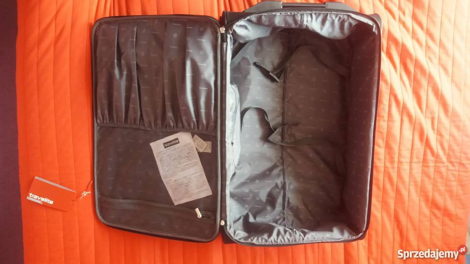 c555b9f100200 Nowa walizka duża Travelite Orlando 2 koła 80L Warszawa - Sprzedajemy.pl