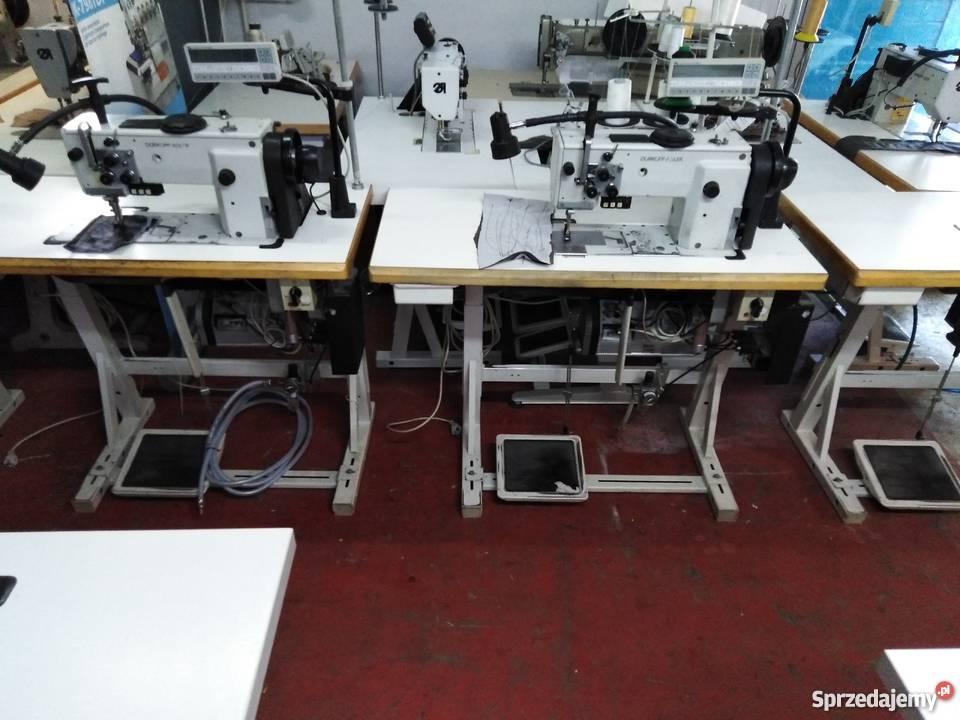 Maszyny szycie tapicerki Durkopp Adler 767 inne Piaski sprzedam
